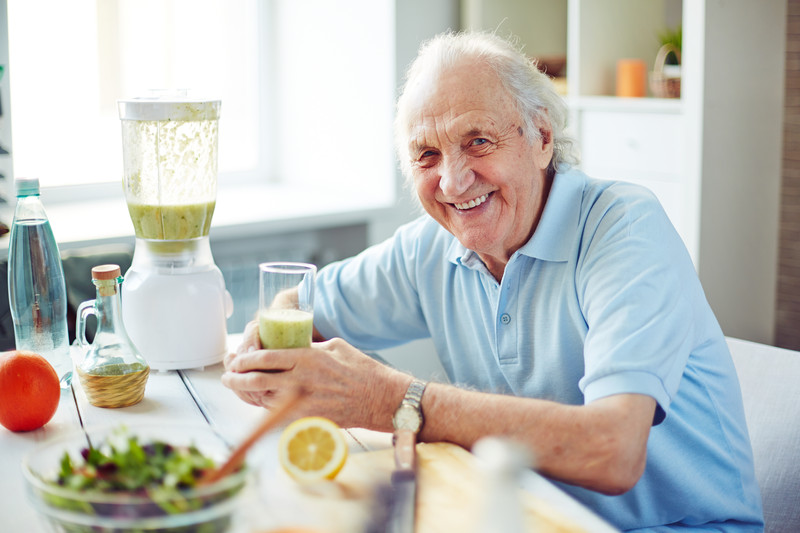 Home care services for seniors that need help with feeding and grocery shopping