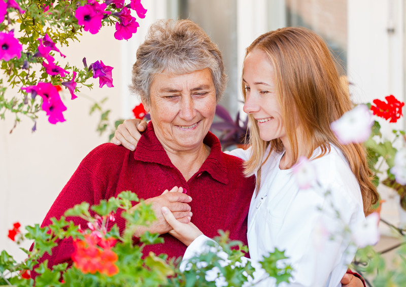 Long term care that is performed by home care professionals for seniors