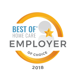 2018 Best of Home Care Employer of Choice