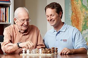 Caregiver Providing Dementia Home Care