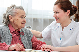 Caregiver Providing End of Life in home Care