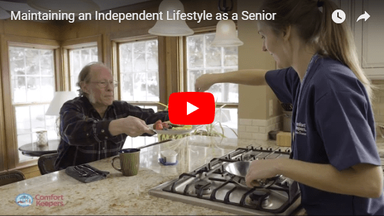 At home elder care solutions for independent seniors in Marietta, OH
