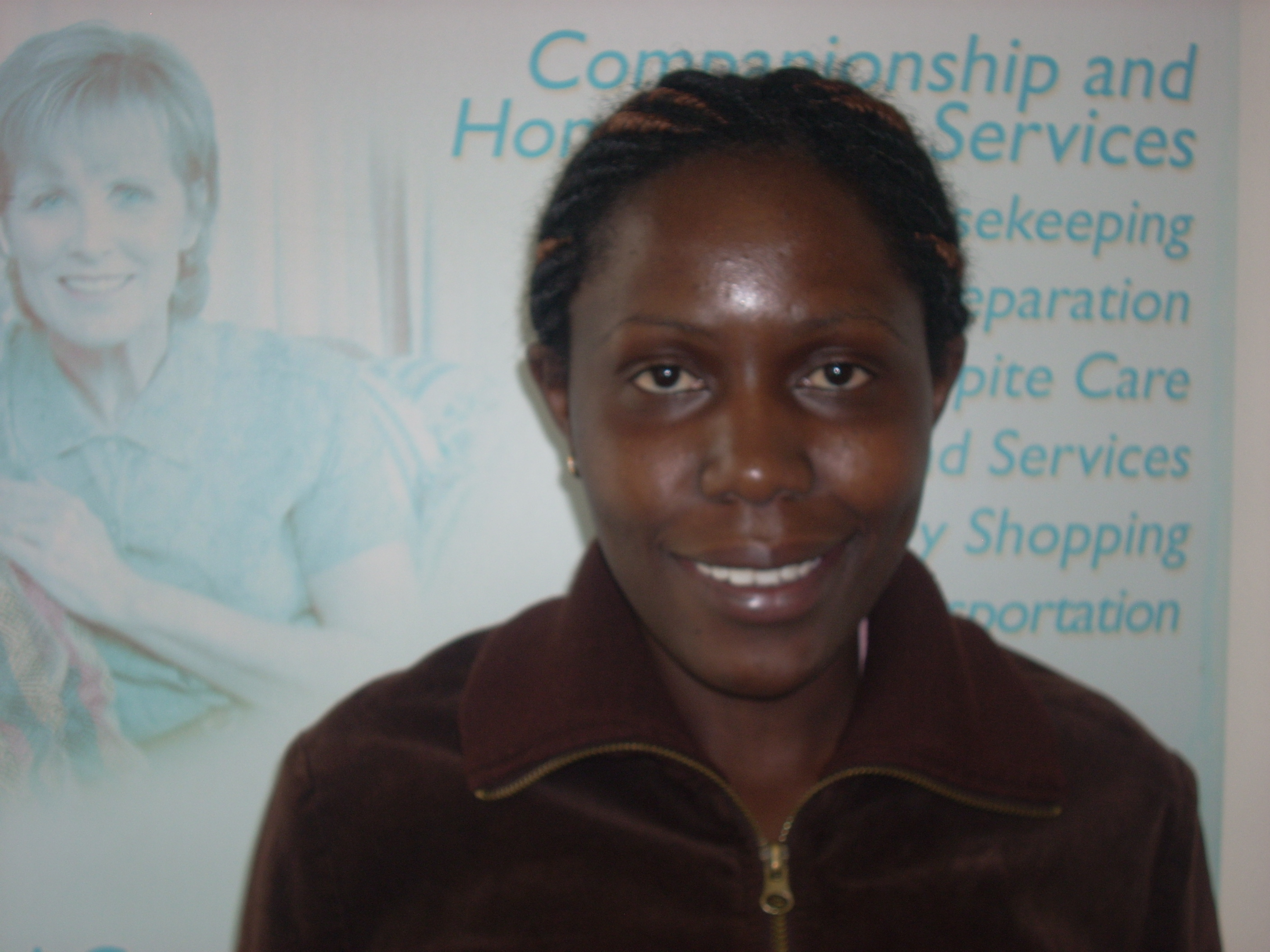 Caregiver of the Month January 2020 Alice K.