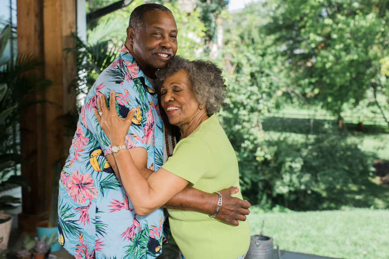 Senior Ramance - Dancing couple