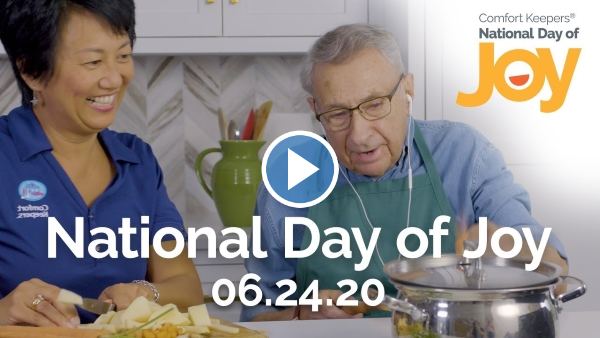 Comfort Keepers National Day of Joy