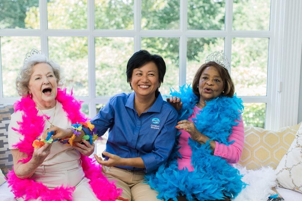 Interactive Caregiving Senior Caregivers