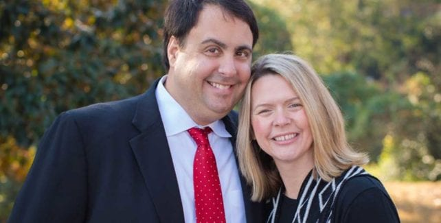 Chris and Erin Couchel - Owners of Comfort Keepers Home Care in Tryon, NC