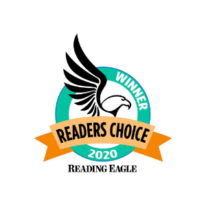 Reading Eagle's Readers Choice 2020 Award