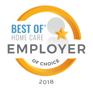 Home Care Pulse Award for Employer of Choice 2018
