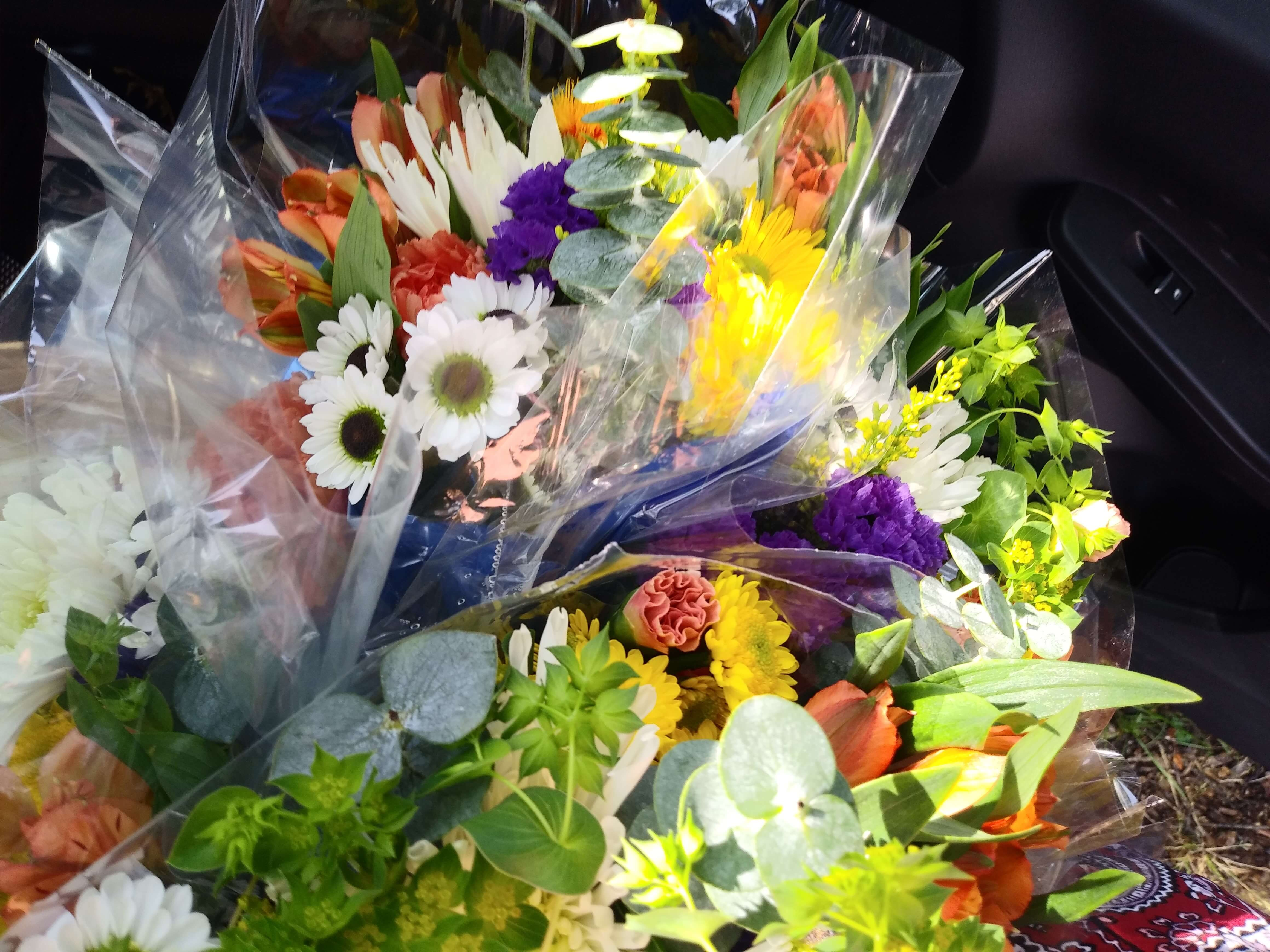 Close up photo of bouquet of flowers
