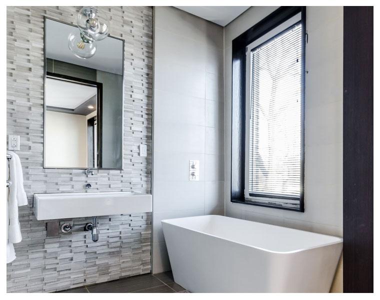 Salas de banho de Caroline Sautchuk