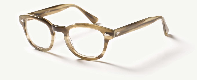 green eyeglasses