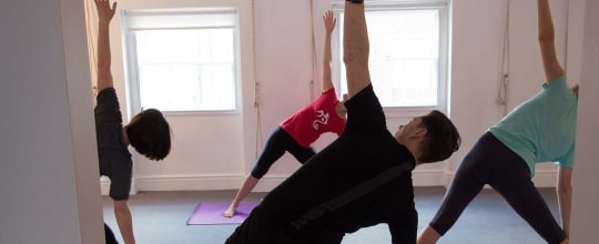 Iyengar Yoga with Annemarie Caracciolo
