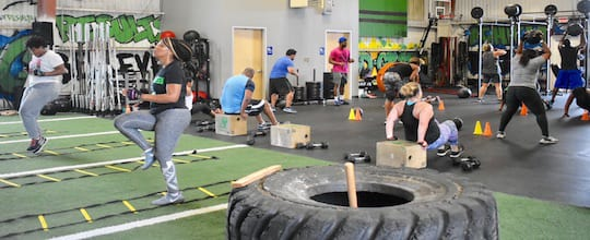 Mean Green Training Center - Bootcamp