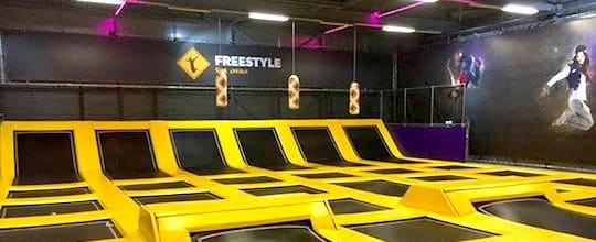Jumpsquare Trampoline Fitness