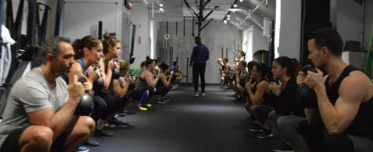 Concrete Jungle Grit Strength and Conditioning