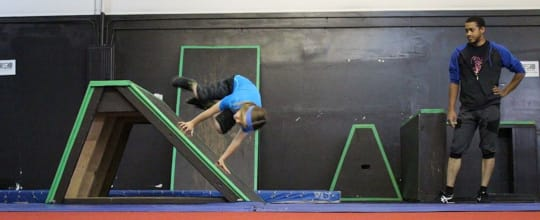 Ninja Brand Parkour Gym