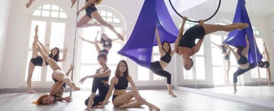 Milan Pole Dance Studio Singapore