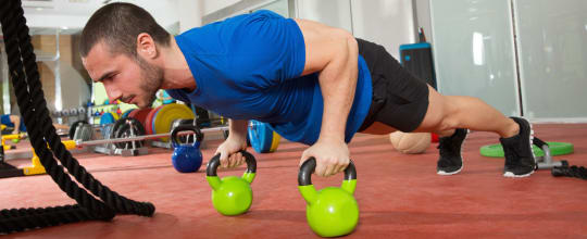 Iron Strength Kettlebell Gym