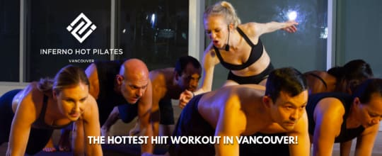 Inferno Hot Pilates Vancouver