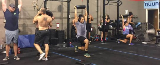 Crossfit garage: read reviews and book classes on classpass