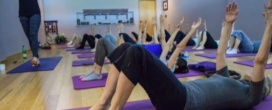 Simon Says Yoga