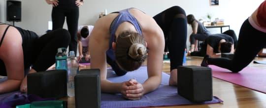 heart fire yoga