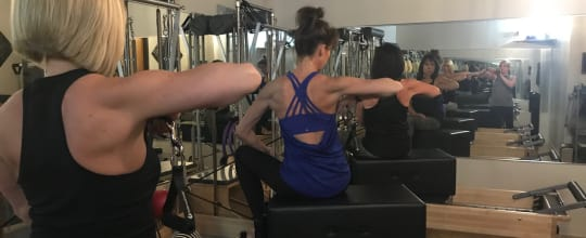 Tilted Core Pilates