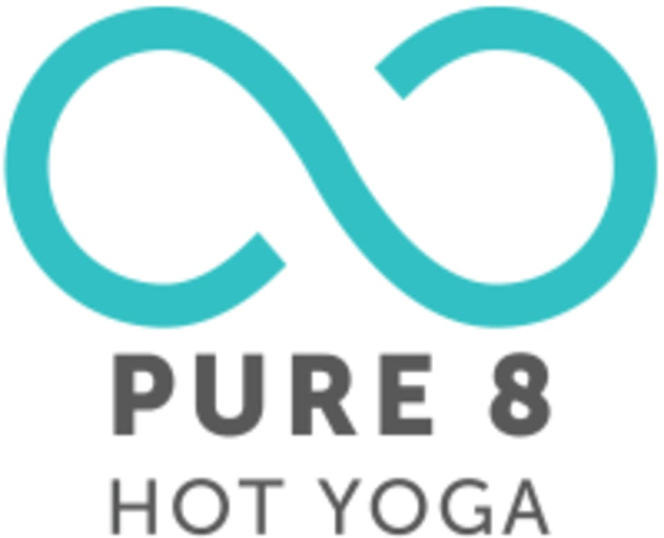Pure 8 Hot Yoga logo