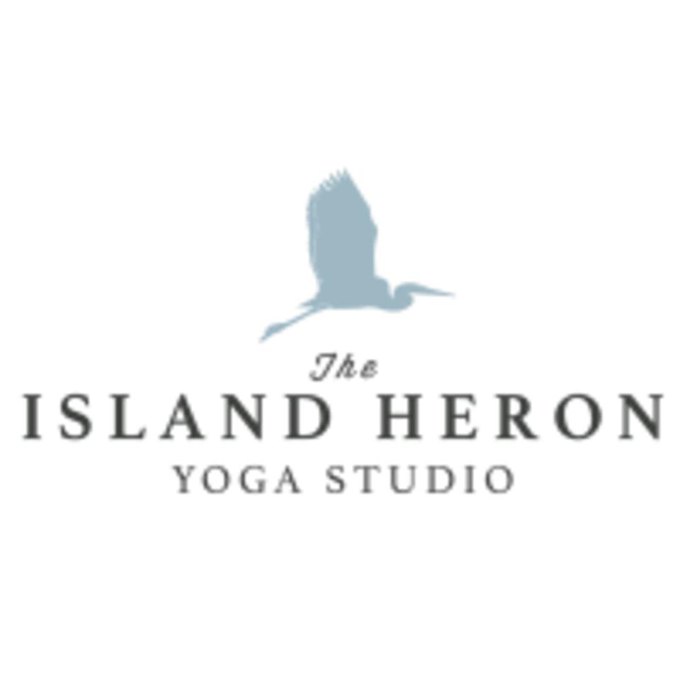 The Island Heron logo