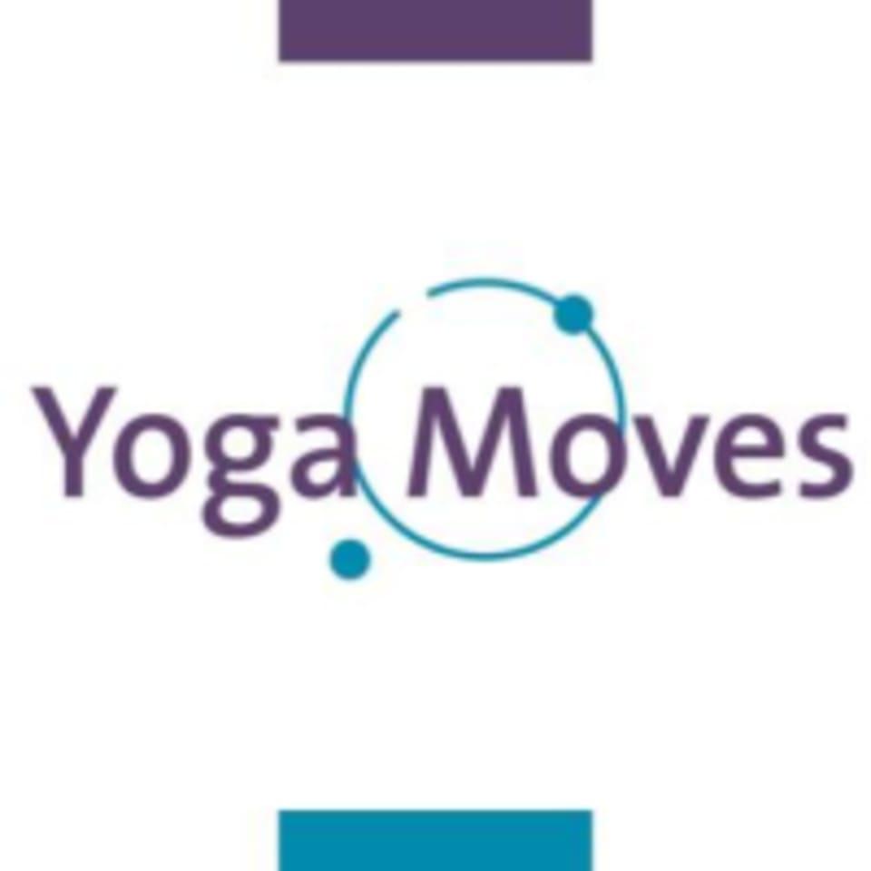 Yoga Moves Hot logo