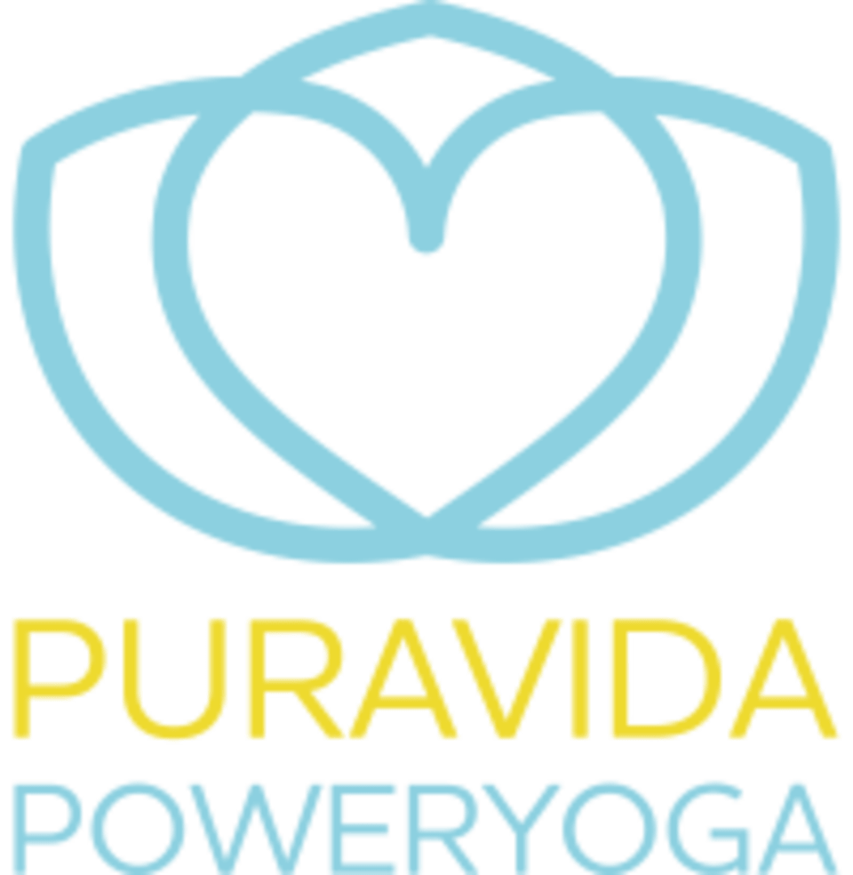 Pura Vida Power Yoga logo