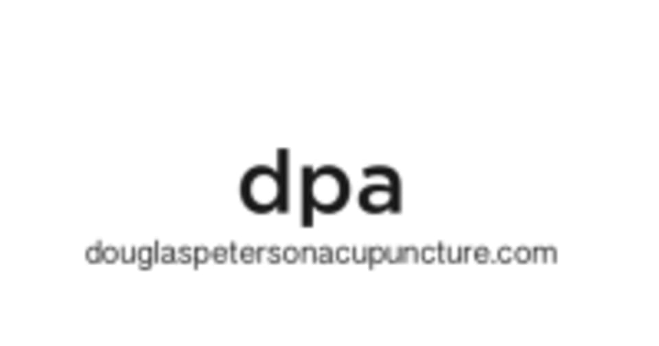 Douglas Peterson Acupuncture logo