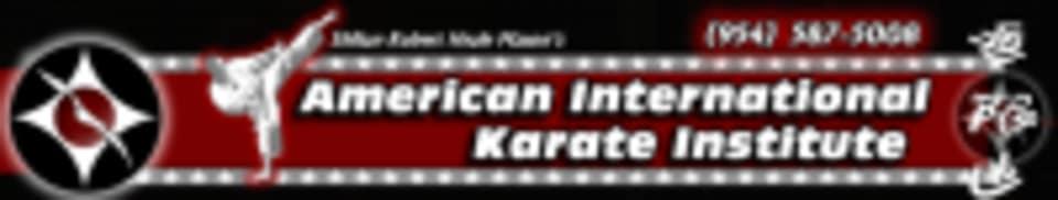 American International Karate Institute logo
