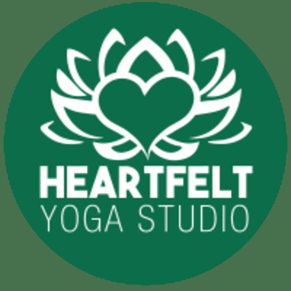 Heartfelt Yoga Studio logo