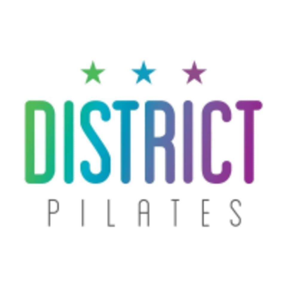 District Pilates logo