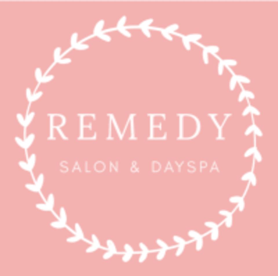 Remedy Salon and Spa logo
