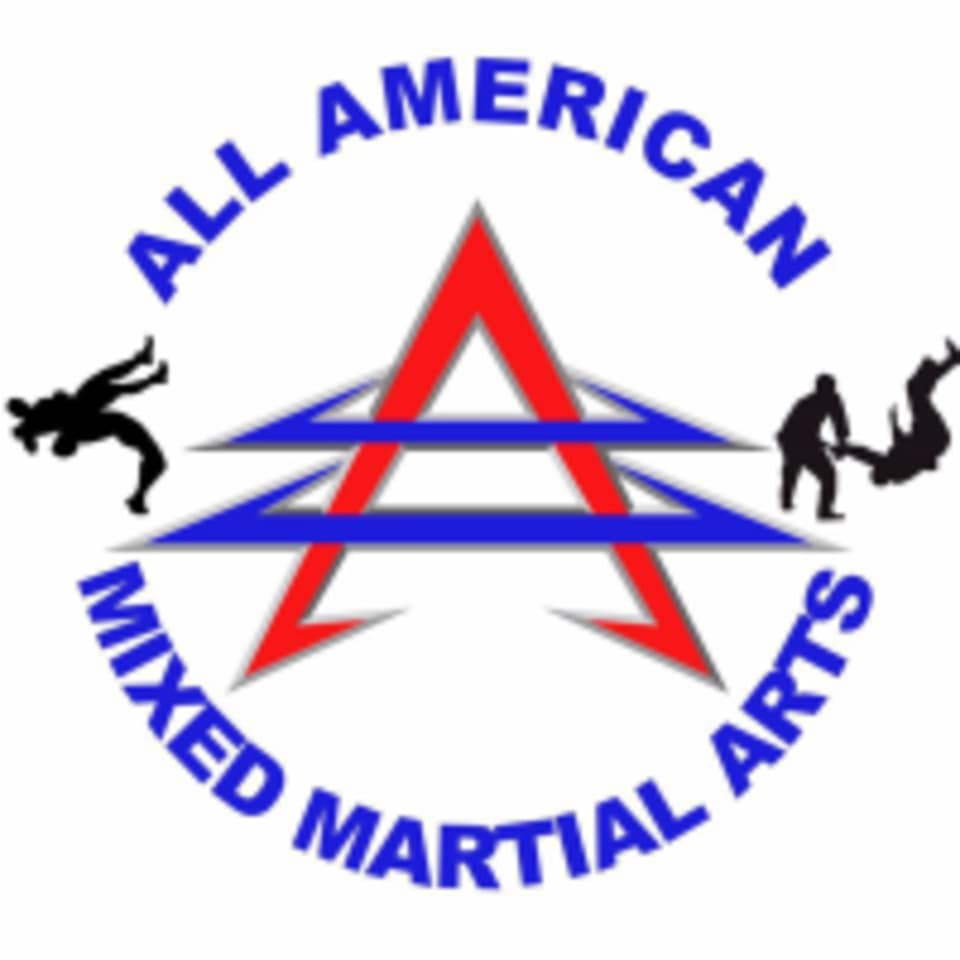 All American MMA and BJJ logo