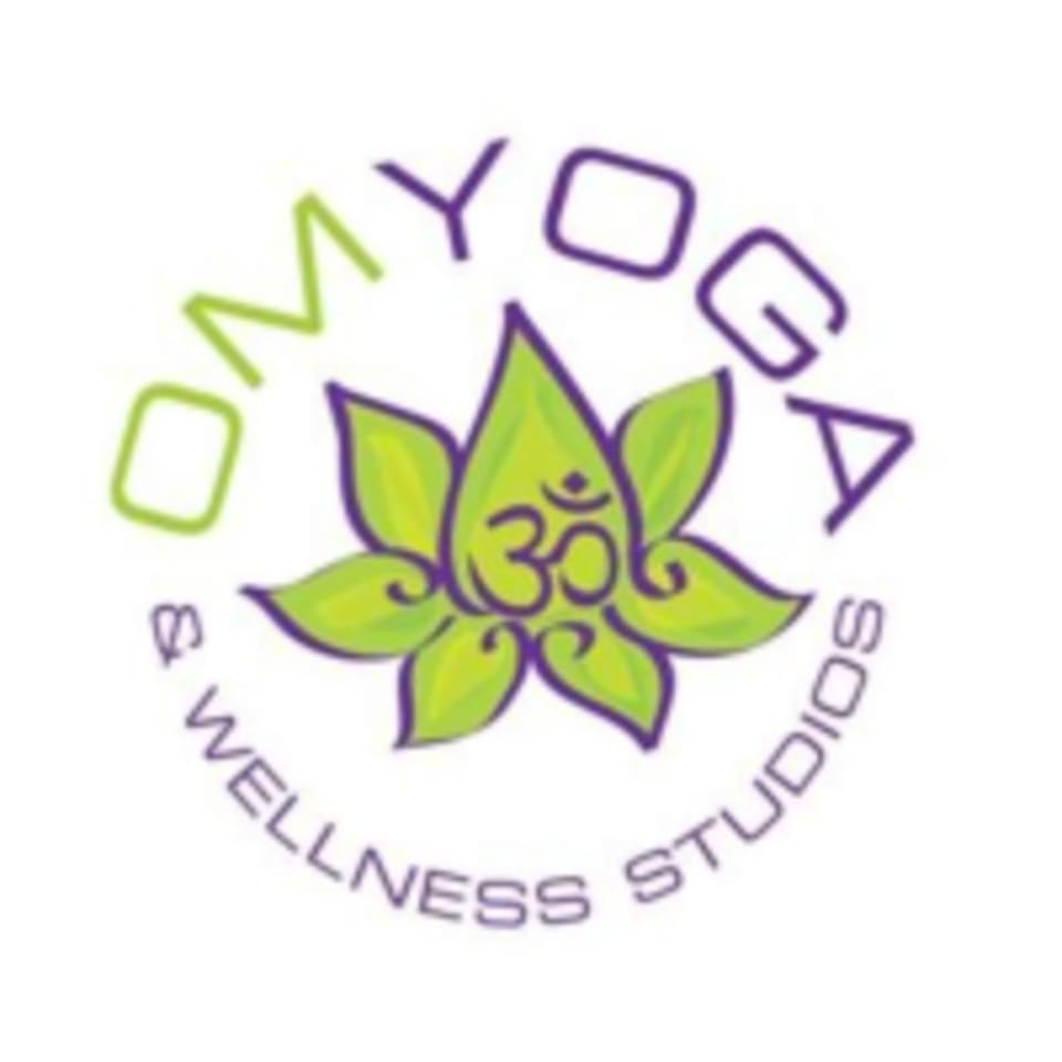 Om Yoga and Wellness logo