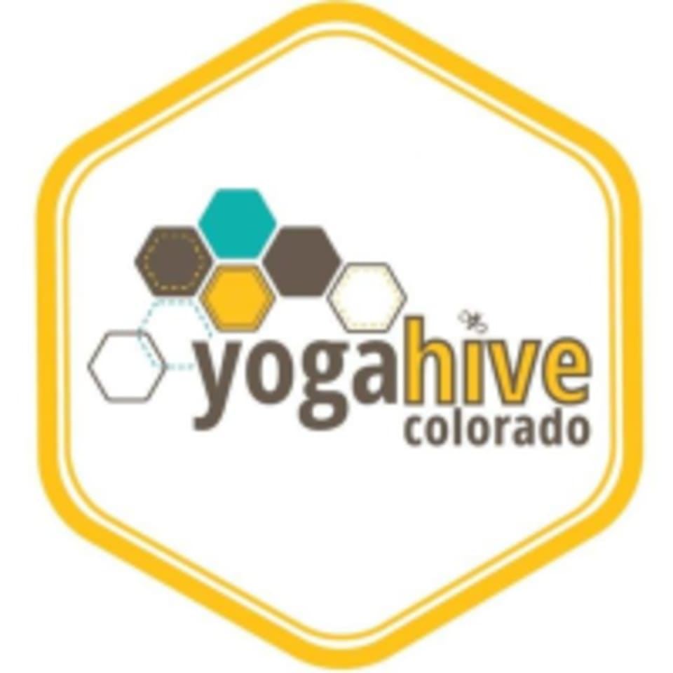 Yoga Hive Colorado logo