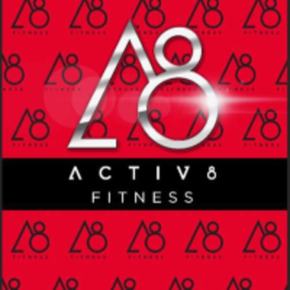 Activ8 Fitness  logo