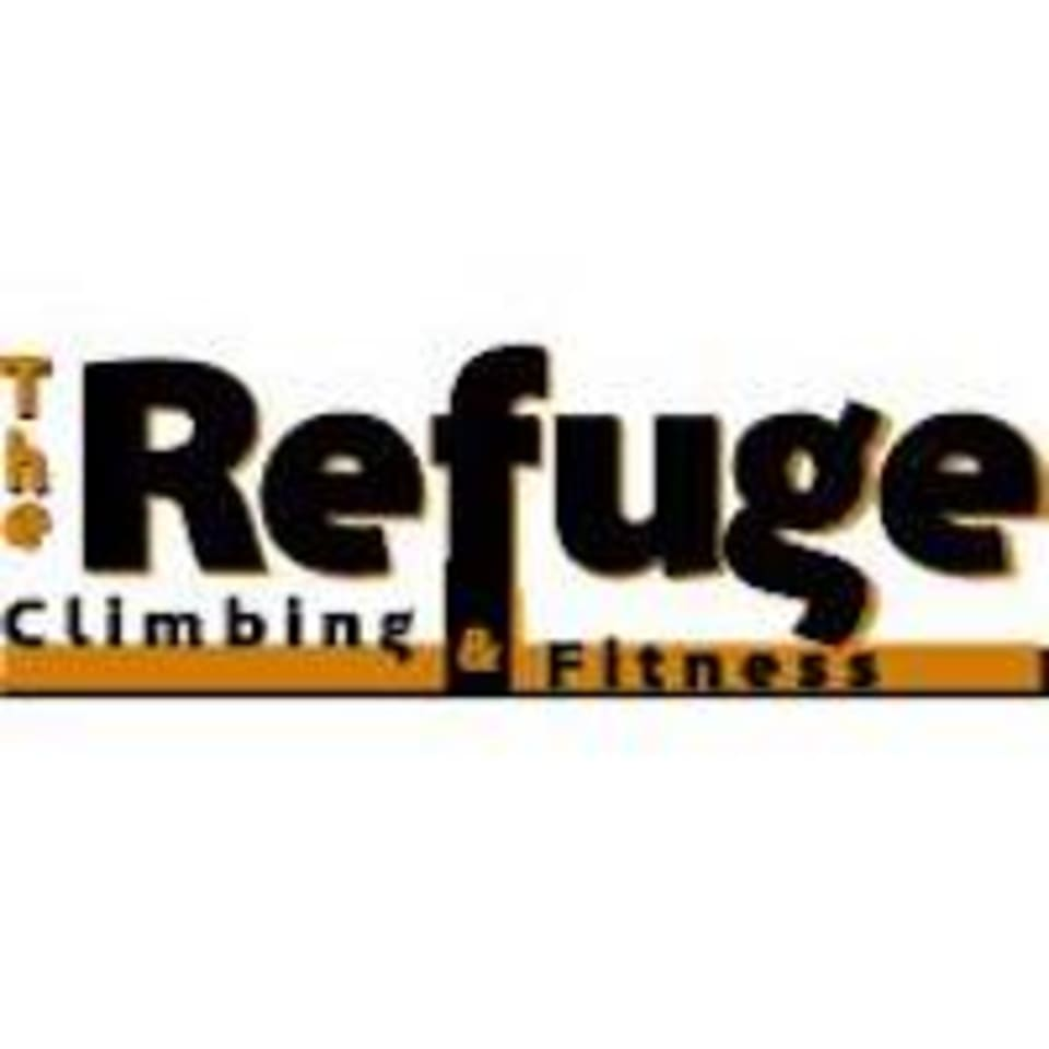 The Refuge Climbing and Fitness logo