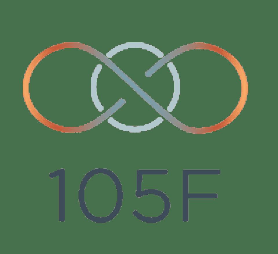 105F Chicago's Original Hot Yoga logo
