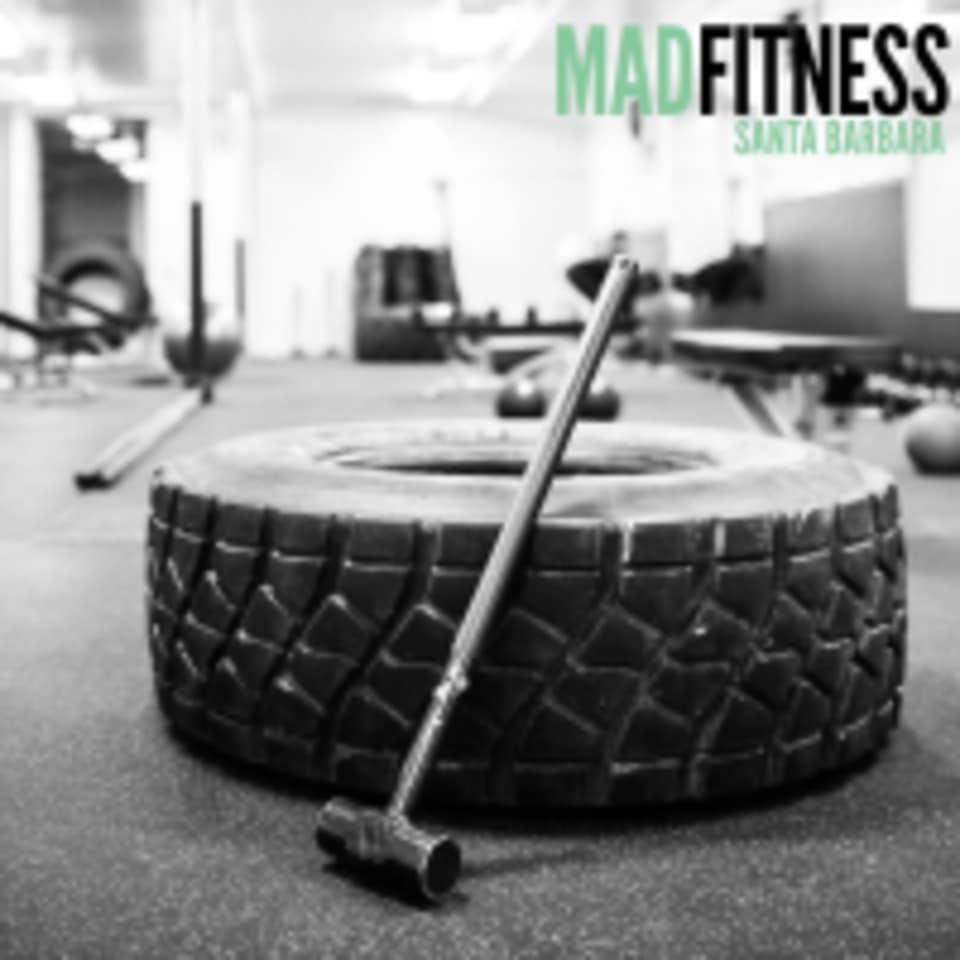 Mad Fitness SB logo