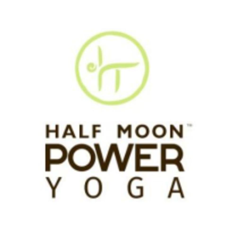 Half Moon Power Yoga logo