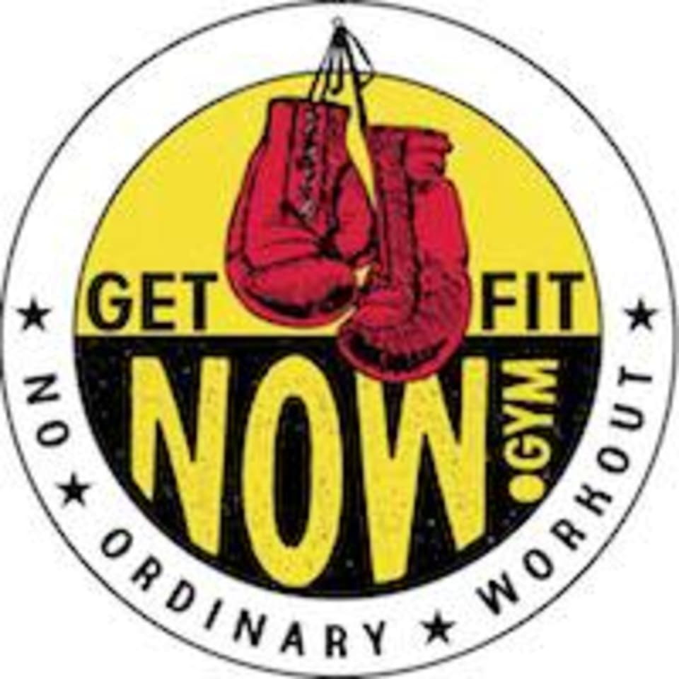 Get Fit NOW! Gym logo