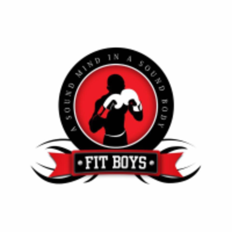 Fit Boys boxing club logo