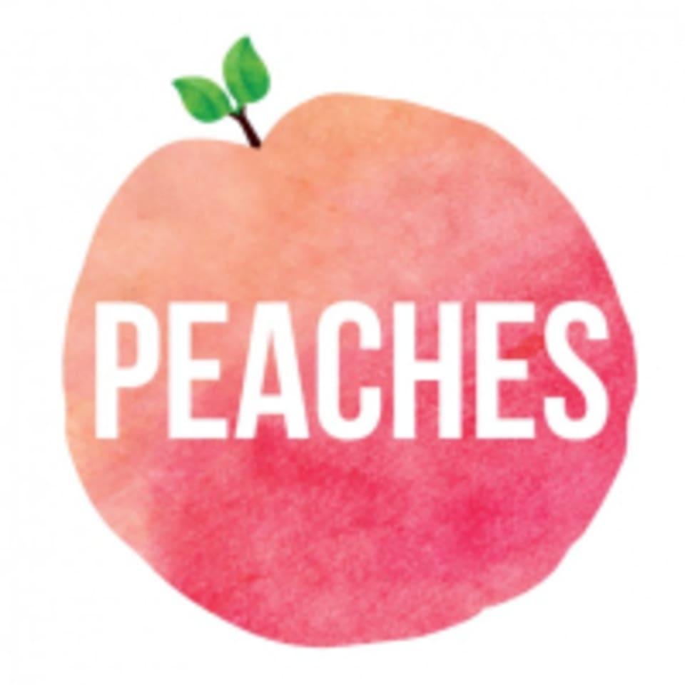 Peaches Pilates  logo