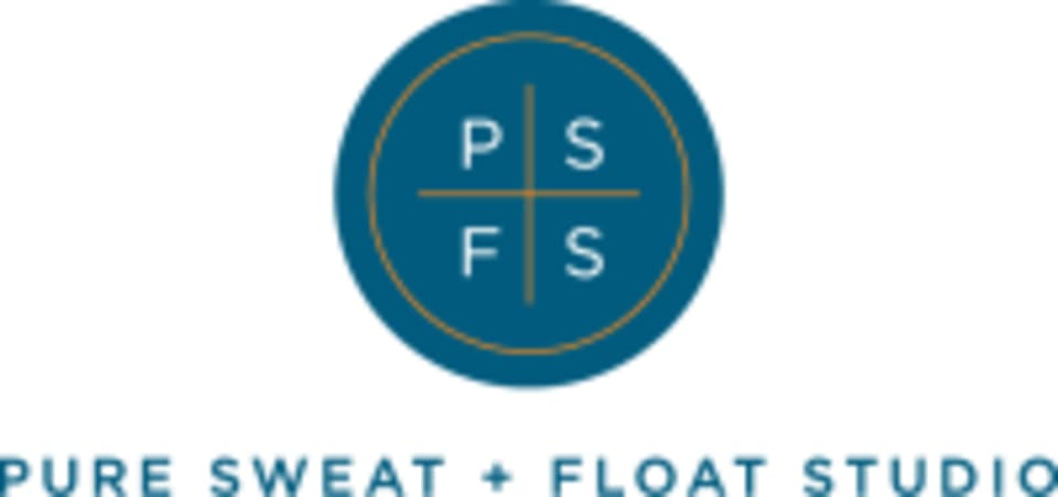 Pure Sweat + Float Studio logo