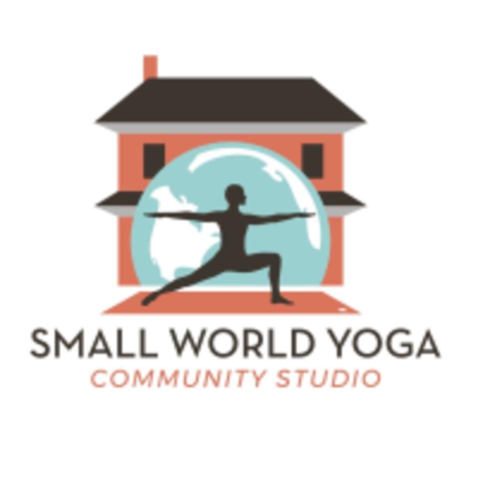 Small World Yoga logo